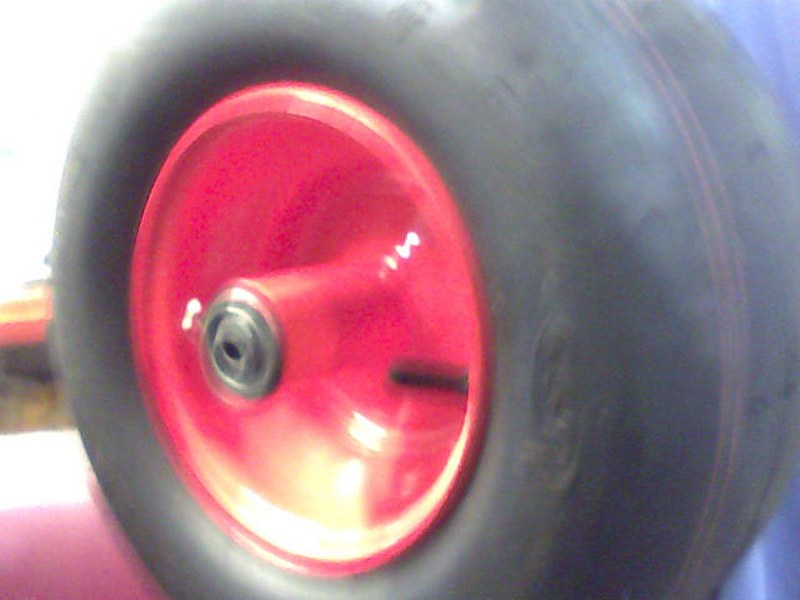 Bad Boy Mower OEM  022-2006-00 13 x 6.50 - 6 Orange Tire and