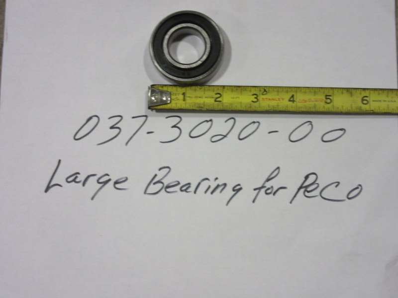 Bad Boy Mower OEM  037-3020-00 Large Bearing for Peco