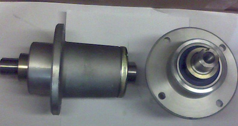 Bad Boy Mower OEM  037-6015-50 Spindle - Aluminum - 2012-2016 ZT