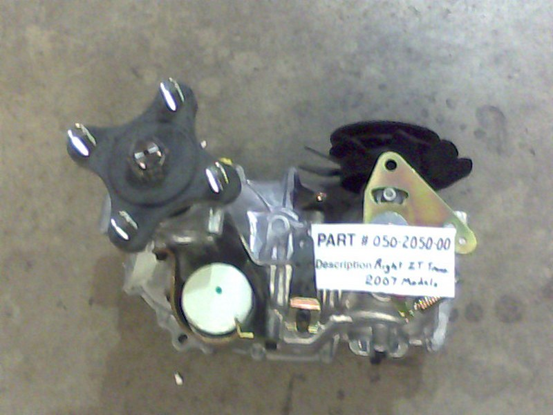 Bad Boy Mower OEM  050-2050-00 Right ZT Transaxle-2007 Models