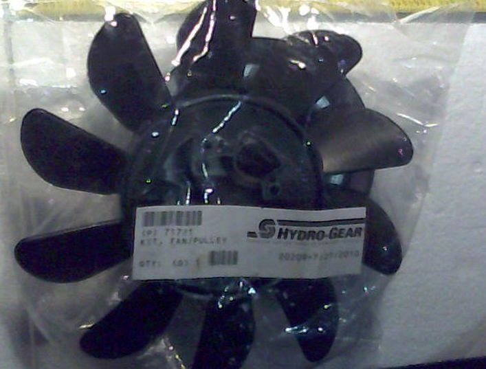 Bad Boy Mower OEM  050-2075-00 Fan/Pulley Kit for ZT