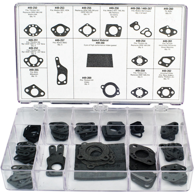 Oregon Replacement  Assortment, Intake Gasket Part Number 08-010