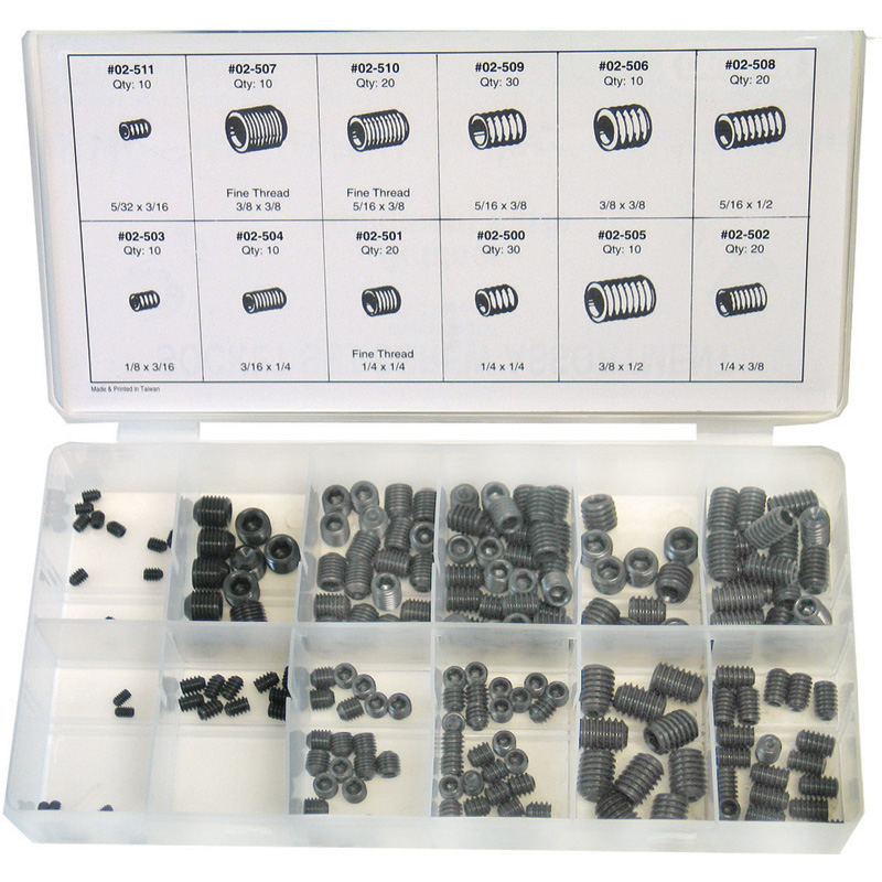 Oregon Replacement  Assortment, Set Screw Part Number 08-200