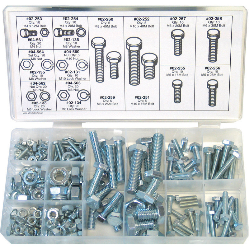 Oregon Replacement  Assortment, Metric Screw Part Number 08-240
