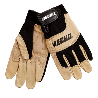 ECHO OEM Sport/Landscape Gloves w/Reduced Vibe Large 103942198