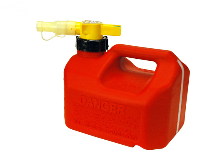 Rotary No-Spill 1-1/4 Gallon Gas Can (Red) 13459