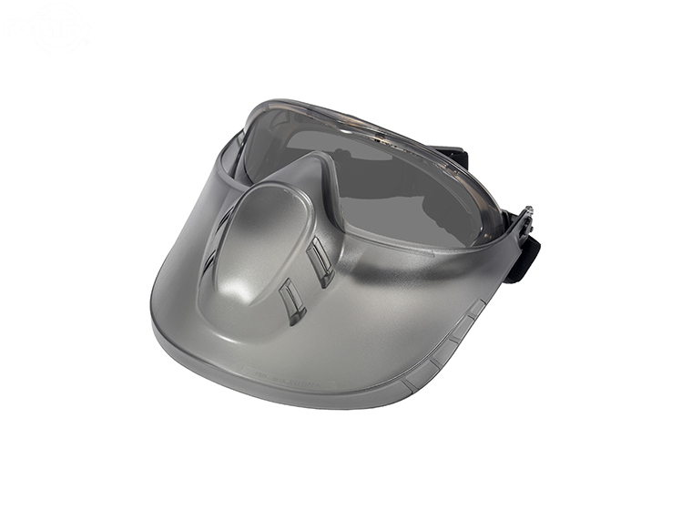 Rotary Capstone Faceshield Gray  16192