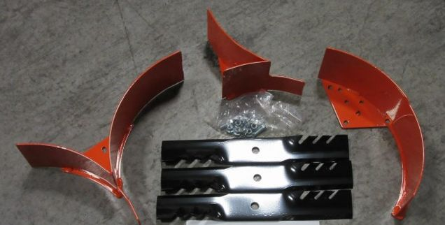 BAD BOY MOWER OEM 210-0248-00 48 2017-18 ZT Elite MULCH KIT W/BLADES