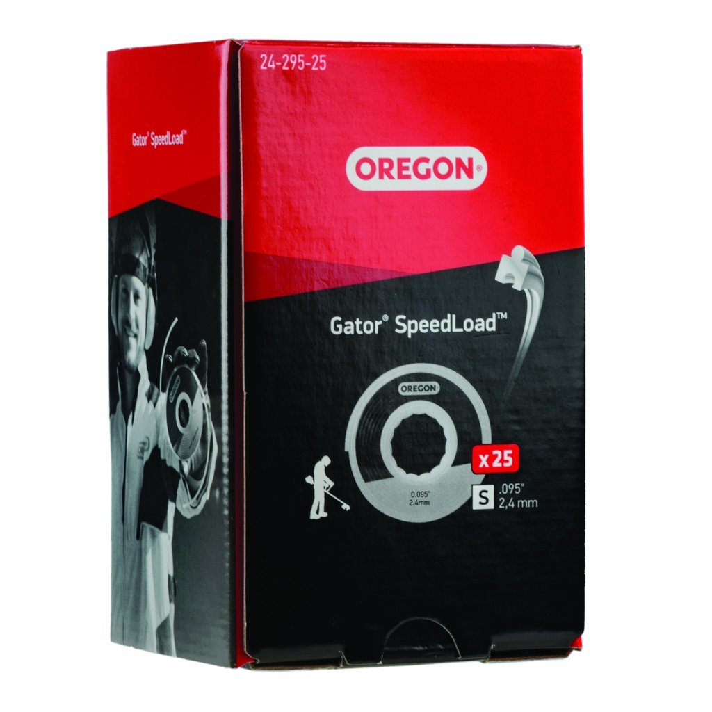 Oregon. Gator. SpeedLoad Trimmer Line Disk Pack of 25  24-295-25