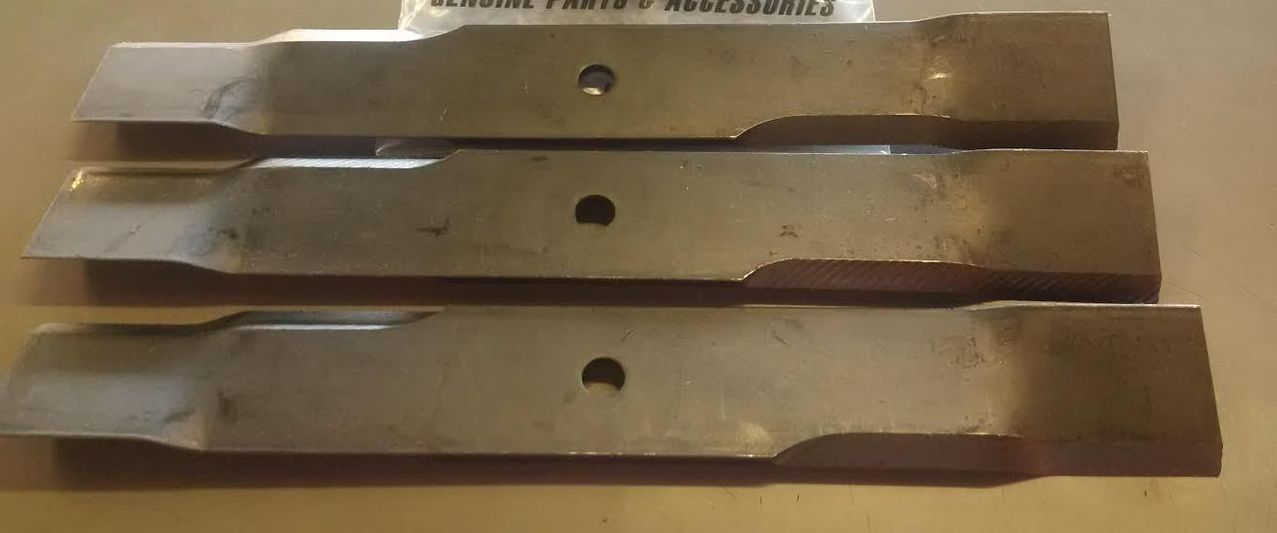 Dixie Chopper OEM Mower Blade Set of 3 30227-60T Twisted Blade