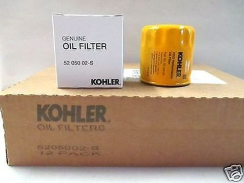 Kohler OEM Oil Filter 5205002 5205002-S1 CASE OF 12 Filters