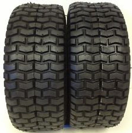 New Set of 2 Deestone Turf Tire 16/6.50X8 4 Ply