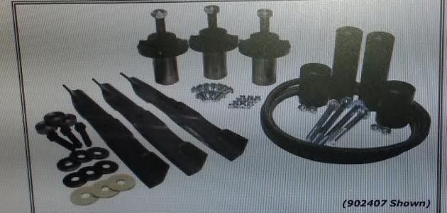 Dixie Chopper OEM Deck Service Kit Fits Silver Eagle 60 902407