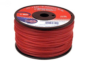 Rotary Trimmer Line .105 1Lb Spool Red Commercial 3520
