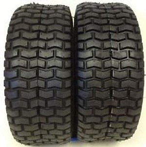 New Set of 2 Deestone Turf Tire 13/6.50X6 4 Ply