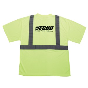 ECHO OEM Safety Tee Shirt Short Sleeve 99988801810 Large