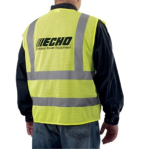 ECHO OEM Hi-Visibility Tear-Away Safety Vest, XL 99988801401