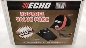 ECHO Apparel Value Pack (Hat, Gloves & Safety Glasses) 99988801526